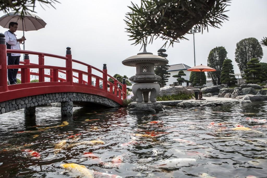 Công viên mang đậm phong cách Nhật Bản, địa điểm check in lý tưởng vào cuối tuần